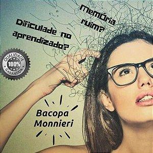 Bacopa Monnieri 250 mg : Memorização Retenção de Informações - 120 doses