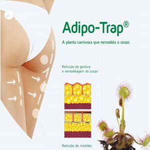 Adipo Trap 3% : Creme Redutor Celulite e Gordura - 180g