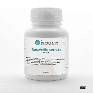 Boswellia Serrata 400mg : Para sua Saúde Corporal - 90 doses