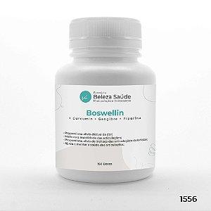 Boswellin + Curcumin + Gengibre + Piperina - 150 doses