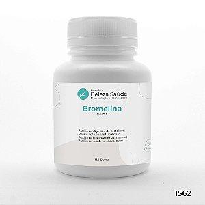 Bromelina 500mg Saúde do Sistema Digestivo - 120 doses