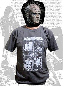 Camiseta Ramones, adulto, chumbo