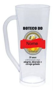 Caneca Long Personalizada 400ml