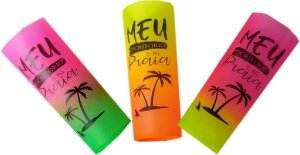 Copo Long drink 350ml degradê Summer Personalizado