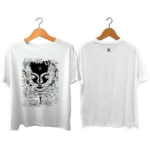 Camiseta Zen Co Surfing Buda craquelado