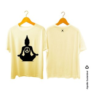 Camiseta Zen Co Surfing Buda paz