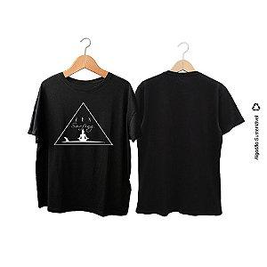 Camiseta Zen Surfing buda trinangulo
