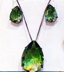 conjunto Verde Pedra Fusion