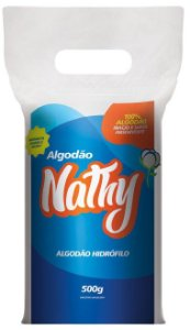 ALGODÃO HIDRÓFILO ROLO 500G NATHY