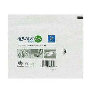 CURATIVO AQUACEL EXTRA AG 10X10CM - CONVATEC
