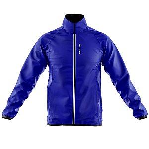 Jaqueta Corta Vento Ciclismo Mountain Bike Pro Tour azul