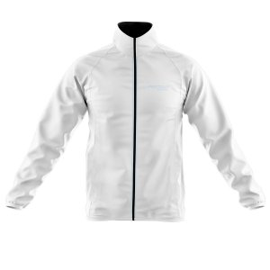 Jaqueta Ciclismo Corta Vento Pro Tour Branca