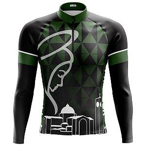 Camisa Ciclismo Mountain Bike Nossa Senhora Aparecida Manga Longa