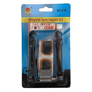 Kit de Reparo Completo Para Bicicleta Mountain Bike