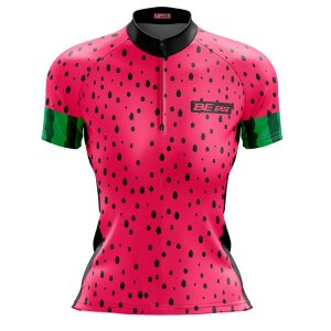 Camisa Ciclismo Mountain Bike Feminina Melancia