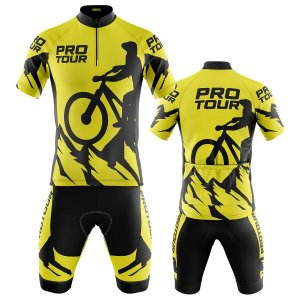 Conjunto Masculino Ciclismo Mountain Pro Tour Ciclista