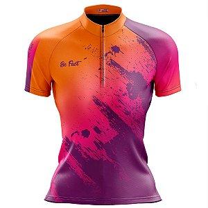 Camisa Ciclismo Mountain Bike Feminina Respingos MOD 231