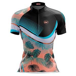 Camisa Ciclismo Mountain Bike Feminina Aspirais