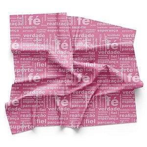 Bandana de Ciclismo Feminina Pro Tour Fé Rosa Dry Fit