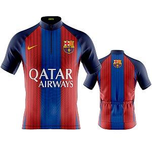 Camisa Masculina Manga Curta Barcelona MTB Modelo 272