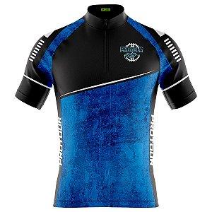 Camisa Ciclismo Masculina Mountain Bike Pro Tour Piscina Dry Fit Proteção UV + 50