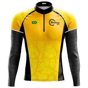 Camisa Ciclismo Mountain Bike Masculina Pro Tour Sertão