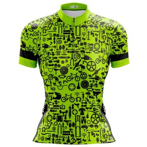 Camisa Ciclismo Mountain Bike Feminina Pro Tour Peças