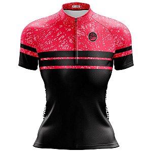 Camisa Ciclismo Mountain Bike Feminina Pro Tour Manchinhas