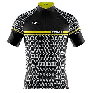Camisa Ciclismo Masculina Mountain Bike Pro Tour Abelha Real