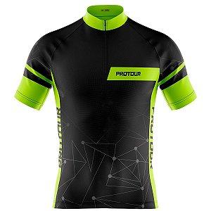 Camisa Ciclismo Masculina Mountain Bike Pro Tour Linear