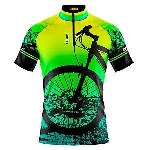 Camisa Ciclismo Masculina Mountain Bike Verde