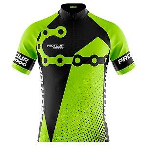 Camisa Ciclismo Masculina Mountain bike Elos Corrente