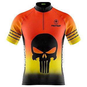Camisa Ciclismo Masculina Mountain Bike Pro Tour Justiceiro
