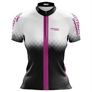 Camisa Ciclismo Feminina Pro Tour Aurora