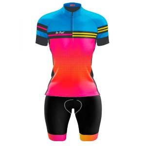 Conjunto Ciclismo Feminino Bermuda e Camisa Beach