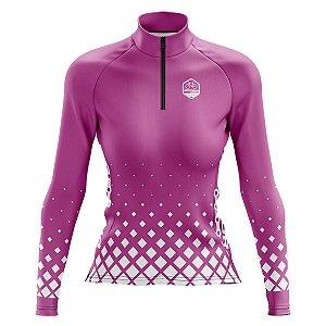 Camisa de Ciclismo Feminina Mountain Bike Pro Tour Pitty Manga Longa