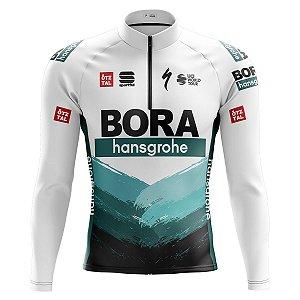 Camisa Ciclismo Masculina Mountain Bike Bora Manga Longa