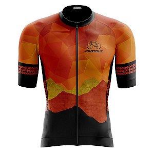 Camisa Ciclismo Pro Tour Premium Saara Zíper Total