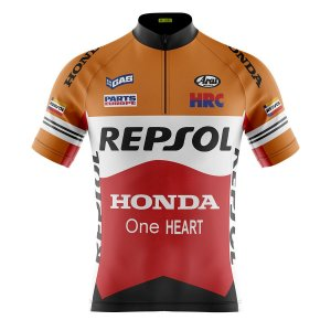 Camisa Ciclismo Mountain Bike Repsol