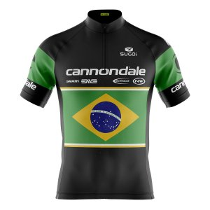 Camisa Ciclismo Mountain Bike Cannondale Brasil