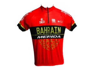 Camisa Ciclismo Mountain Bike Bahrain Merida