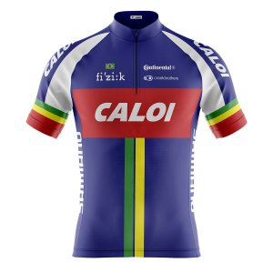 Camisa Ciclismo Mountain Bike Caloi Team