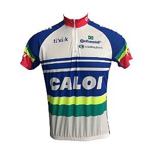 Camisa Ciclismo Mountain Bike Caloi Brasil