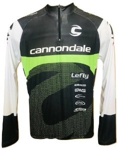 Camisa Ciclismo MTB Cannondale Team
