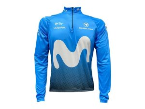 Camisa Ciclismo Mountain Bike Movistar