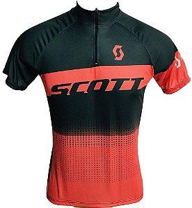 Camisa Ciclismo MTB Feminina Scott Laranja