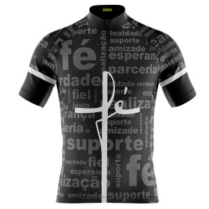 Camisa Ciclismo Masculina Mountain Bike Fé