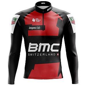 Camisa Ciclismo Masculina Manga Longa Mountain Bike BMC