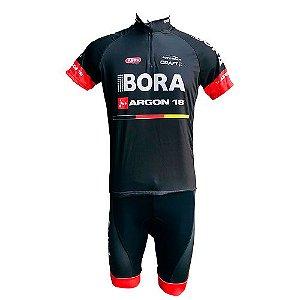Conjunto Ciclismo MTB Bermuda e Camisa Bora Argon 18