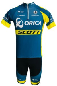 Conjunto Ciclismo Bermuda e Camisa Scott Orica